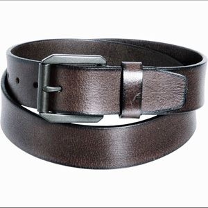 ⬇️NWT James Campbell Double-Stitch Leather Belt 34